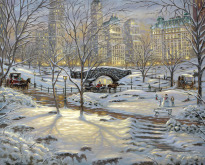 A Winter's Eve, Central Park