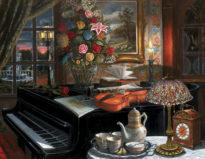 The_Ensemble_30_x_40_oil_on_canvas