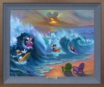 Surfing with Friends 20.25x24